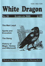 Cover view of the Samhain 2008 Issue